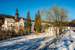 Kloster Eberbach (Winter)